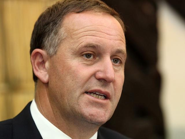 John Key denies saying he would pay for the man's dinner at the Green Parrot. Photo: ODT files