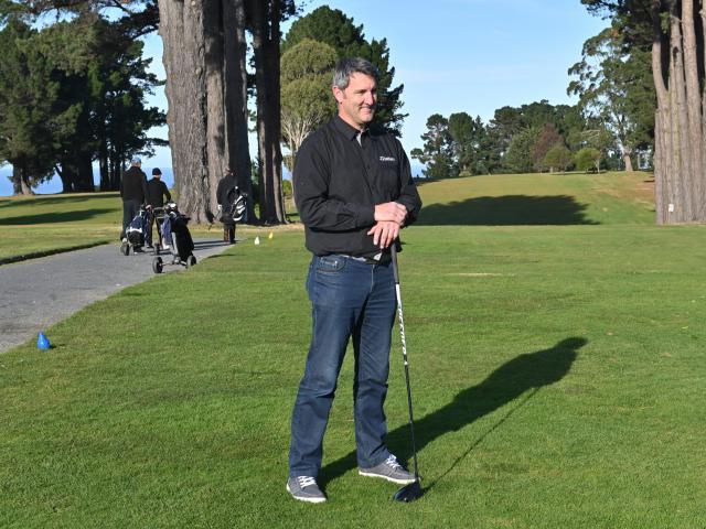 New Golf Otago chief executive Mahal Pearce at St Clair Golf Club yesterday. Photo: Linda Robertson