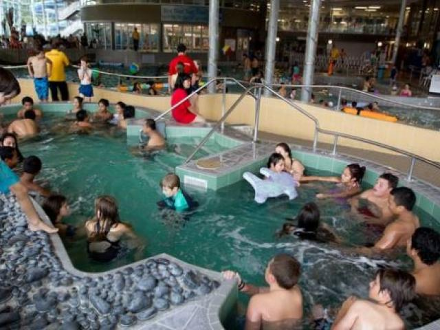 A Muslim woman was told to leave the West Wave pool (pictured) because she was wearing a burkini....