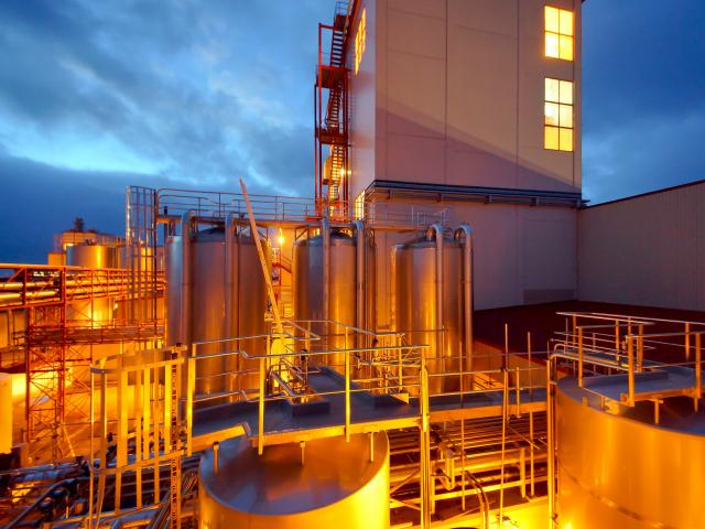Westland Milk Products drops its payout forecast. Pictured is its plant near Hokitika.PHOTO:...