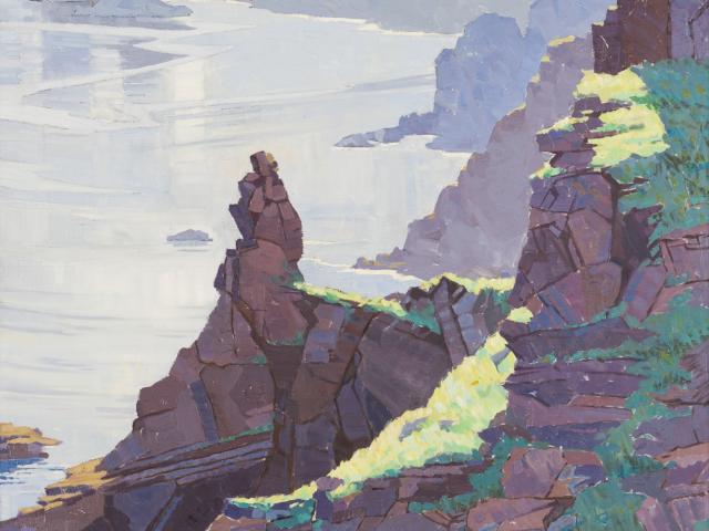 Isle of Brechou, Sark, by Rhonda Haszard (1901-1931). Photo: Collection of the Dunedin Public Art...