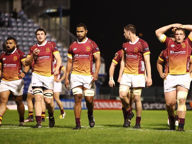 The Southland players look dejected after the side lost 26-10 to Northland in Whangarei on...