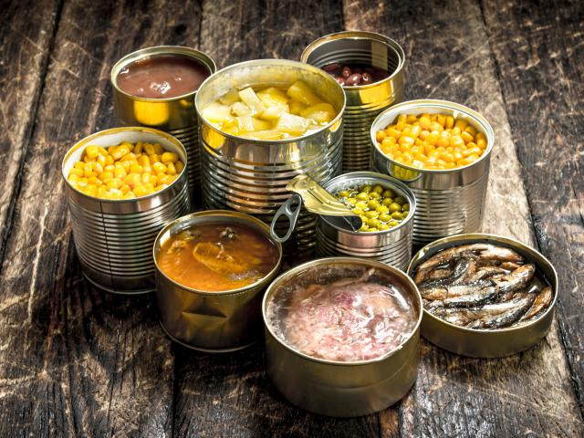 The canning of food goes back to 1810. Photo: Getty Images