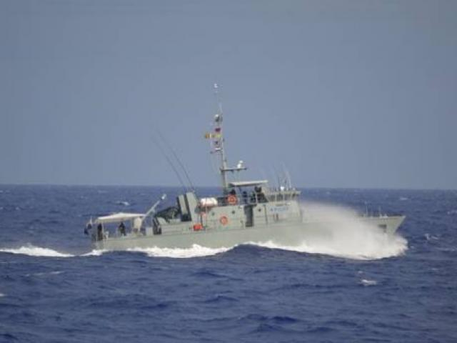 Cook Islands Police patrol boat Te Kūkupa is among vessels searching for a boy who fell overboard...
