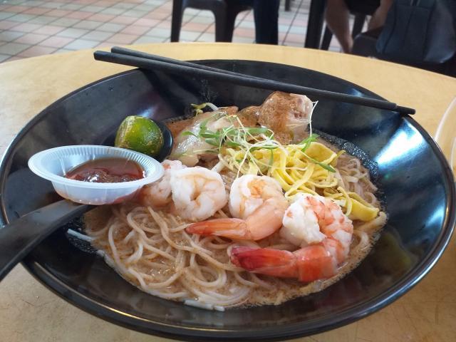 Sarawak Laksa hit the spot.