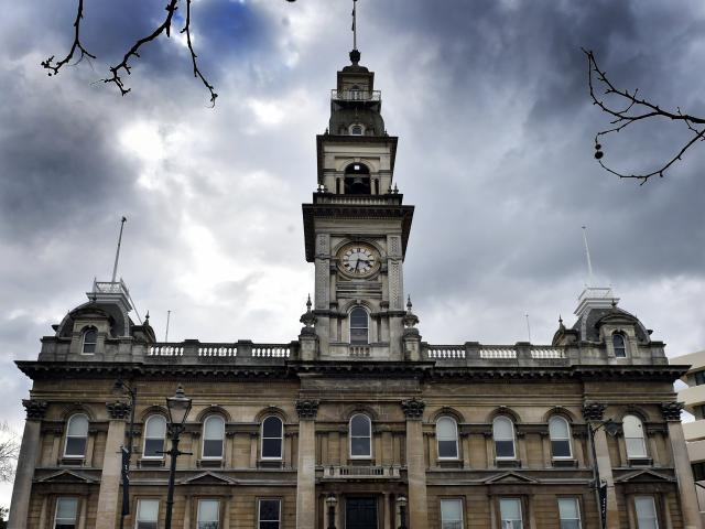 The Municipal Chambers building in the Octagon. PHOTO: PETER MCINTOSH