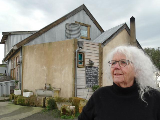 Fleur's Place owner Fleur Sullivan outside the Moeraki restaurant where thousands of dollars...