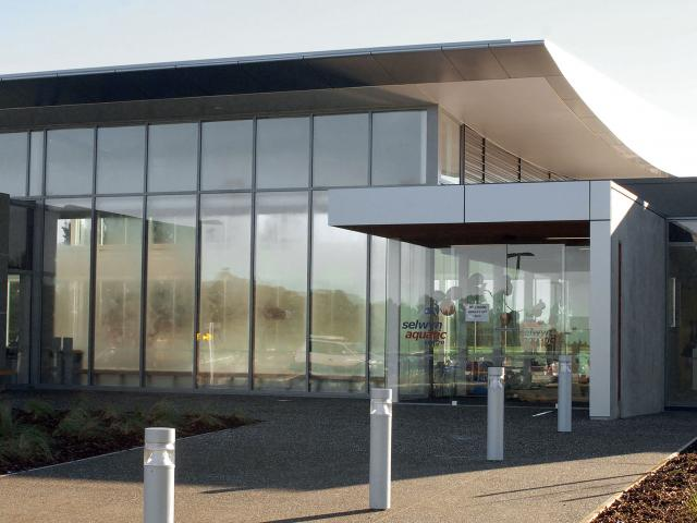 Work begins on the extension for the Selwyn Aquatic Centre on Monday. Photo: Geoff Sloan