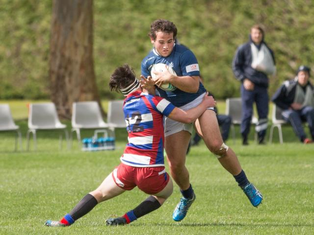 Just four year's ago Canterbury's newest hooker was playing second-five for St Andrew's College's...