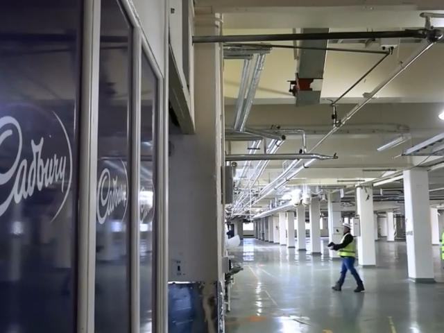 Caption: Cadbury factory site visit ahead of New Dunedin Hospital build. Photo: SDHB