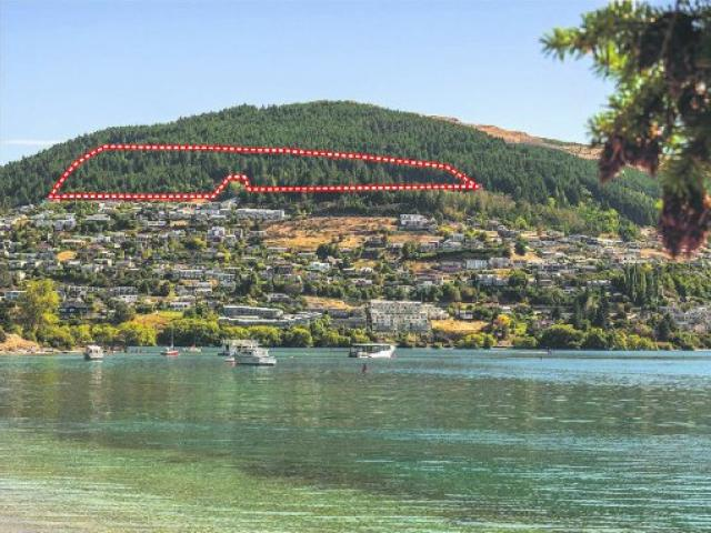 "The ""commonage block"" site in Queenstown is going back on the market. PHOTO: SUPPLIED"