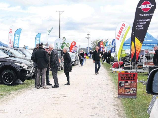 Hive of activity . . . The Otago Field Days will fill the Palmerston Sale Yards on State Highway...