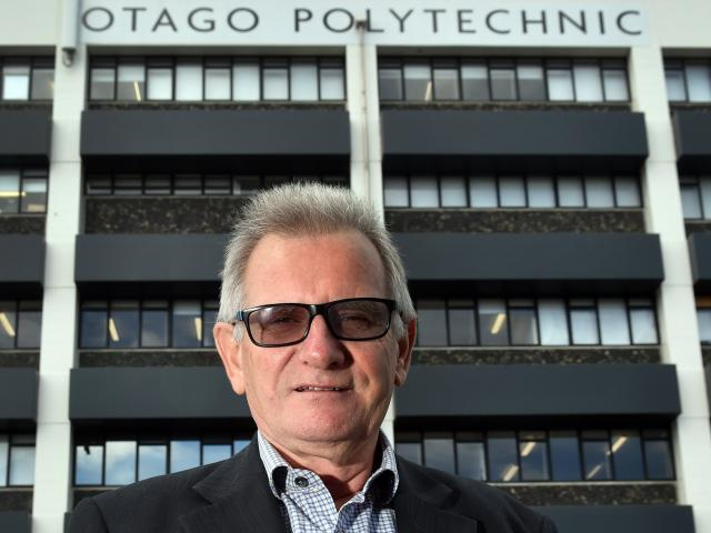 Otago Polytechnic chief executive Phil Ker is faced with an era of change. PHOTO: PETER MCINTOSH