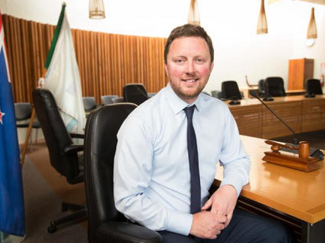 Selwyn District Mayor Sam Broughton.