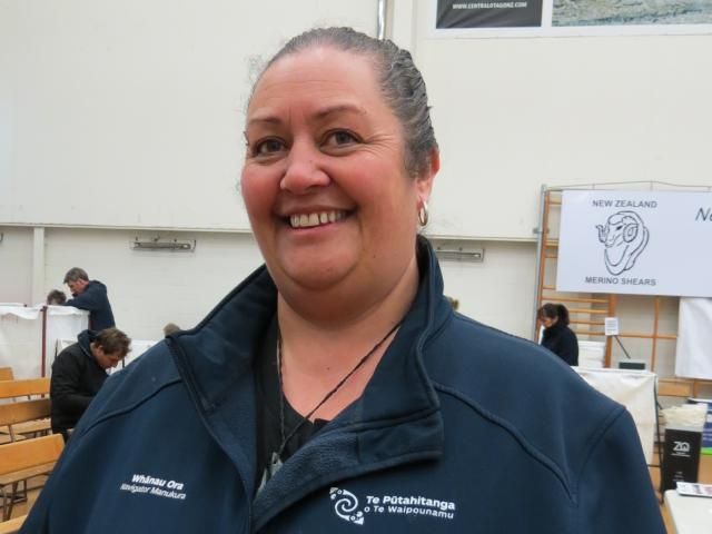 Serena Lyders, of Te Putahitanga o Te Waipounamu. Photo: Yvonne O'Hara