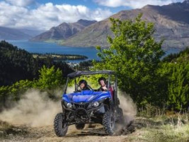 Off Road Adventures taking clients off the beaten track. PICTURE: MILES HOLDEN