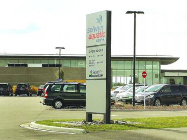 The Selwyn Aquatic Centre was damaged in a storm on Wednesday.