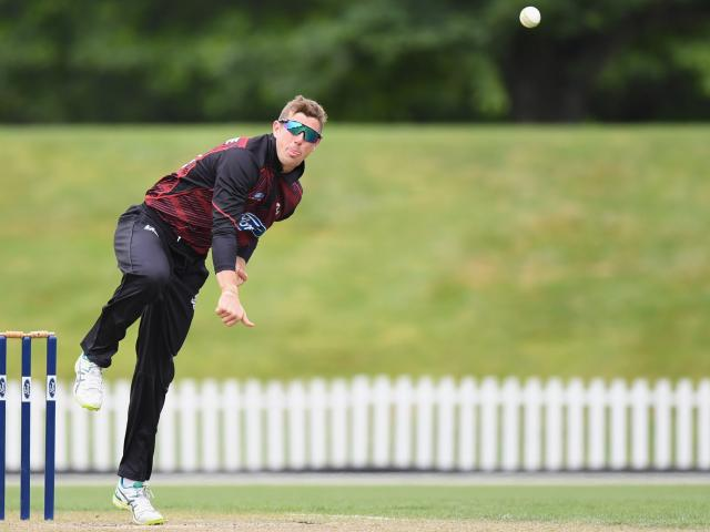 Some tight bowling from Cole McConchie in the final over helped Canterbury sneak home.
