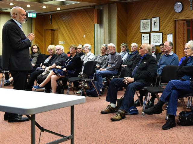 Sharing his understanding of the plans for the new Dunedin Hospital and what it will mean for the...