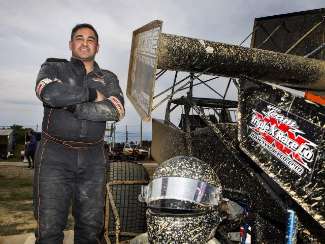 Hornby Panthers second-rower Gene Spooner is hoping to add a speedway title to his resume. Photo:...