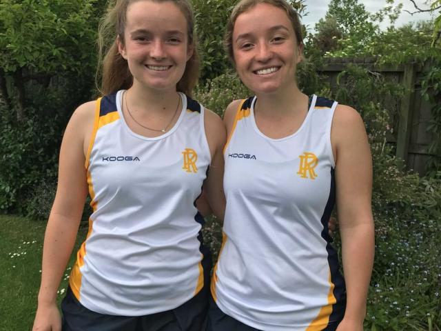 Rangi Ruru twins Maddy (left) and Georgia Sheat will represent New Zealand at the 2020 Youth...