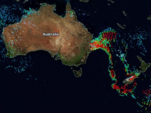 A carbon monoxide plume from the Australian bushfires is captured by NASA satellites on November...