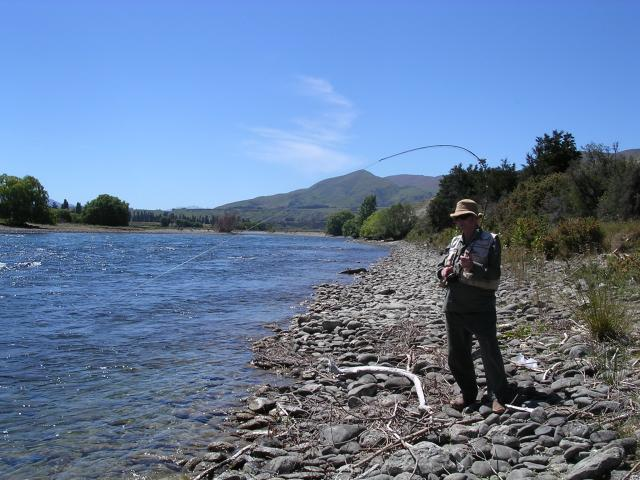 Perfect conditions on the Upper Clutha River