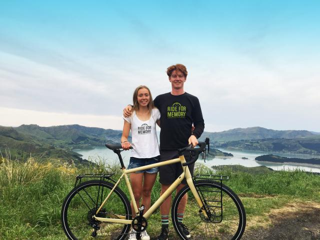 Holly Ffowcs Williams and William Hickford are riding their bikes across the country to raise...