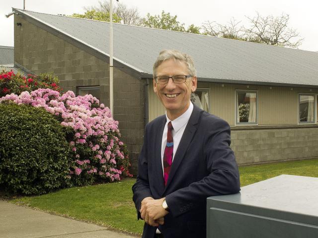 Hornby High School principal Robin Sutton. Photo: Geoff Sloan