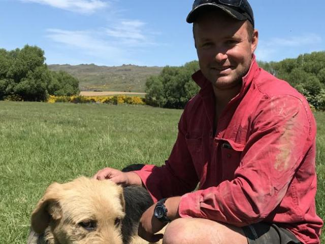 After a mystery illness in 2018, stock manager Leo Hamilton has been focussing on fitness and dog training. Photo: Alice Scott