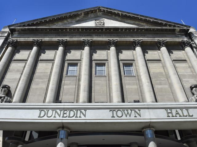 The council-owned town hall complex, which does not have a building warrant of fitness. Photos:...