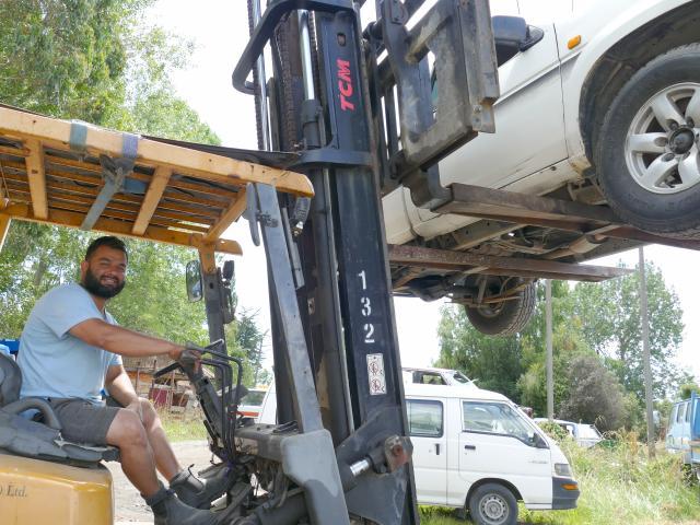 Milton businessman Bilal Barekzai says the community response to attacks on his wrecking yard has...