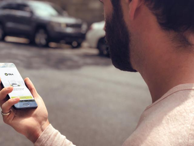 Rideshare app Ola will launch in Dunedin this coming Tuesday. Photo: Supplied