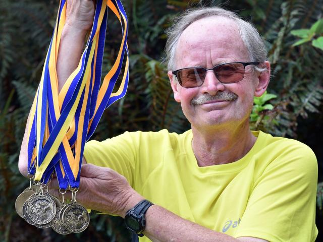 Papatowai Challenge founder Wayne Allen is not letting a recent stroke thwart his unbroken 24...