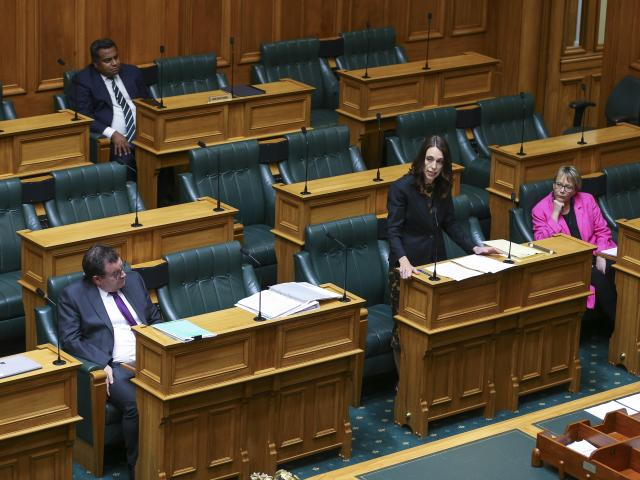 Prime Minister Jacinda Ardern declares a State of National Emergency to fight Covid-19 before a...