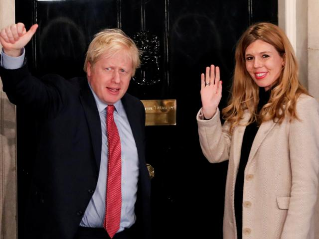 The couple have been living together in Downing Street since Johnson became prime minister in...