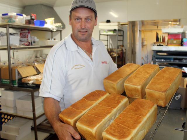 Baker Chris Blanchfield has increased bread production. PHOTO: PAUL MCBRIDE