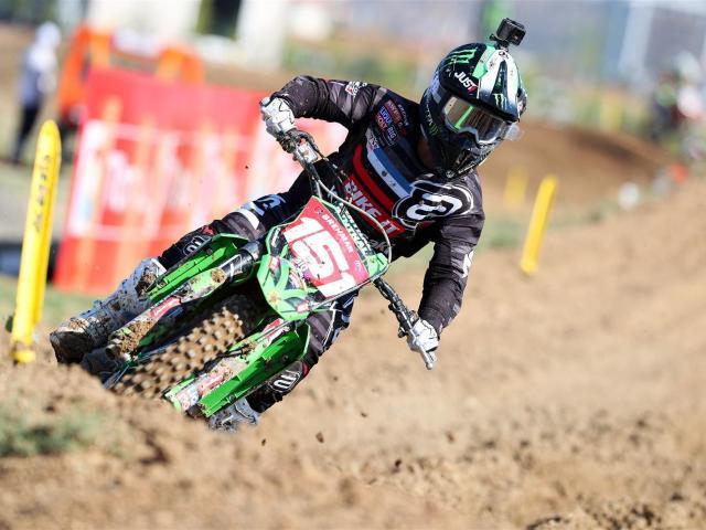 Women's world motocross champion Courtney Duncan has chosen not to get on her bike during New...