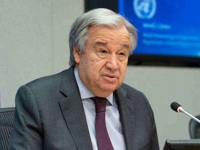 UN Secretary-General Antonio Guterres. Photo: Getty Images