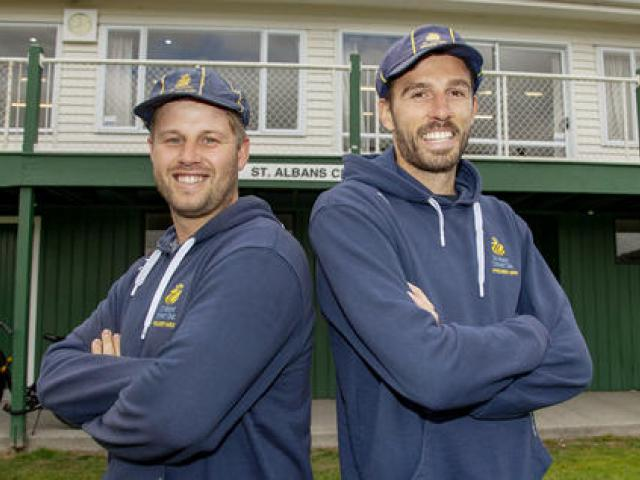 Matt Holstein and James Tapper have become the first St Albans pair to take 50 wickets in the...