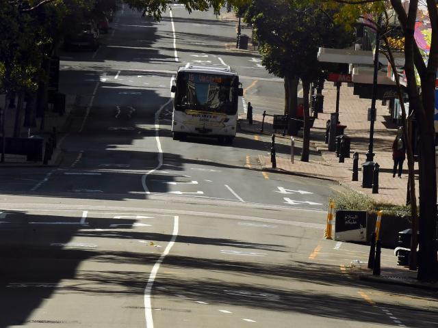 For what is believed to be the first time in many decades, a commuter bus service ran in Dunedin...