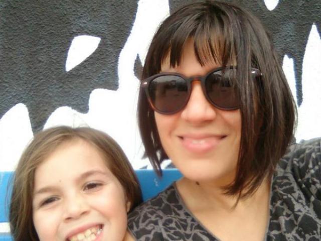 Carolina Zalazar and her daughter Martina stuck in Bali. Photo: Supplied / Carolina Zalazar