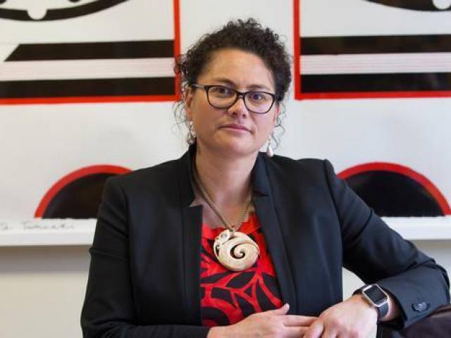 Sitting Manurewa MP Louisa Wall. Photo / Mark Mitchell