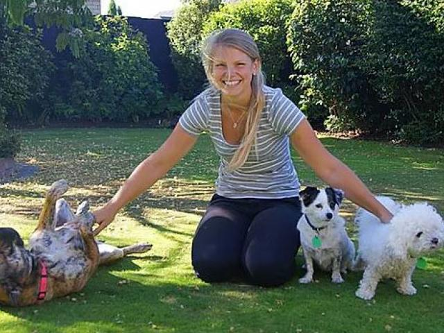 FRUSTRATED: Dog behavioural expert Nicole Cusiel says some dogs have been acting out of character...