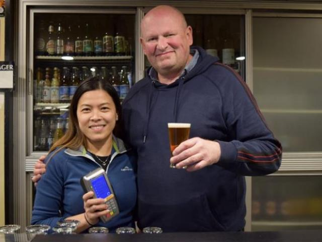 Heff's Hotel co-owners and partners Liezel Ignacio and Sean McCarrigan are happy to be serving...