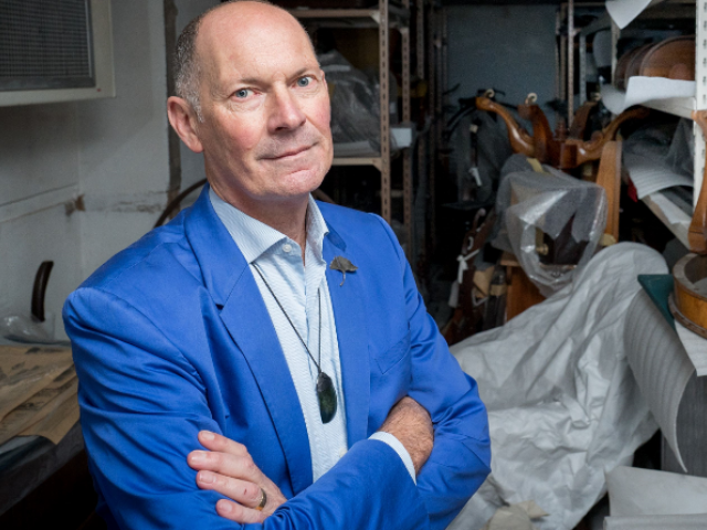 Canterbury Museum director Anthony Wright Photo: RNZ Supplied / Canterbury Museum