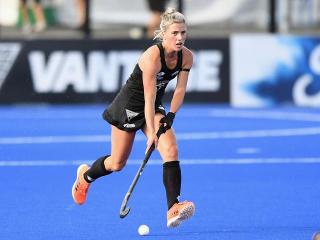 Gemma McCaw in action for the Black Sticks. Photo: Getty Images