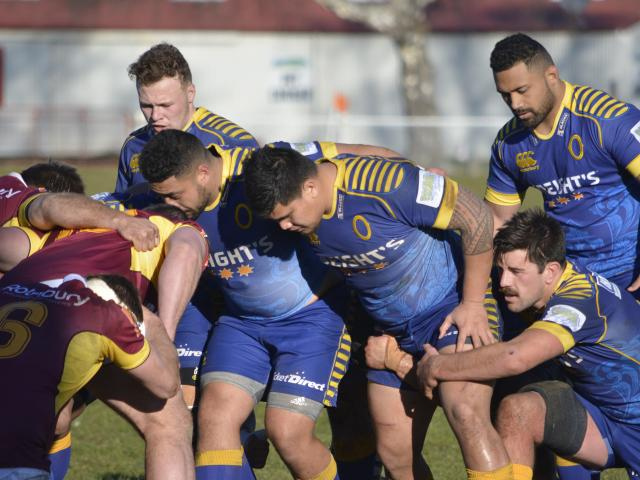 Front rowers Sekonaia Pole and Jona Aonia are set to pack the Otago  scrum ahead of loose...