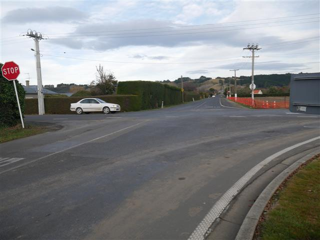 The Dunedin City Council is investigating putting a roundabout at the intersection of Wingatui...