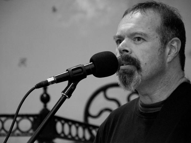 Dunedin musician Darryl Baser. PHOTO: PAUL S ALLEN